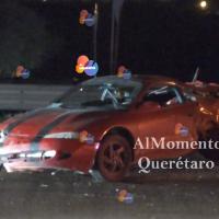 Pierde la vida en Autopista 57 altura San Juan del Río.