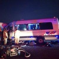 Fallece chófer y tres turistas de Guanajuato en Ríoverde