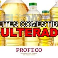 Profeco alerta sobre 8 marcas de aceites comestibles adulterados