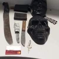 Con Máscaras y Machetes caen banda delictiva en El Rodeo San Juan del Río