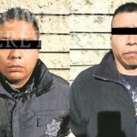Detienen a sujetos por Robo a Camiones en Autopista México - Querétaro. 2 Son Policías.