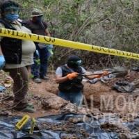 Terror en Jalisco: Hallaron 25 cadáveres en una finca