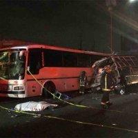Trece muertos en choque vehicular en la México - Pachuca