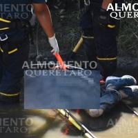 Localizan Cadáver manatiado y encobijado en Río de límites de Querétaro y Guanajuato.